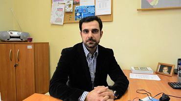 Syryjczyk Shivan Fate w pracy