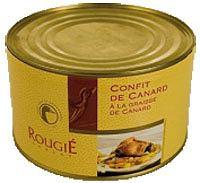 Kuchnia: Fois Gras. Niezły pasztet, kuchnie świata, kuchnia, Rougie Confit z udek kaczki, 4 udka, 1,2 kg. Cena: 101zł