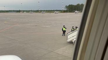 Zatrzymanie samolotu