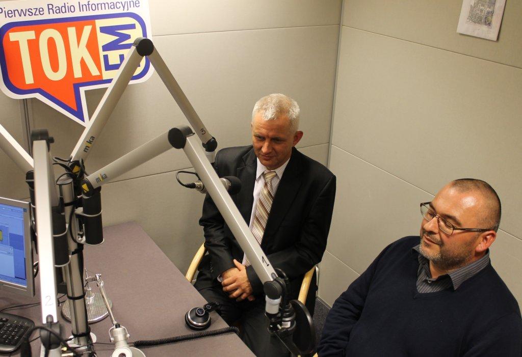 Marek Lisiński i Marek Mielewczyk, współzałożyciele Fundacji