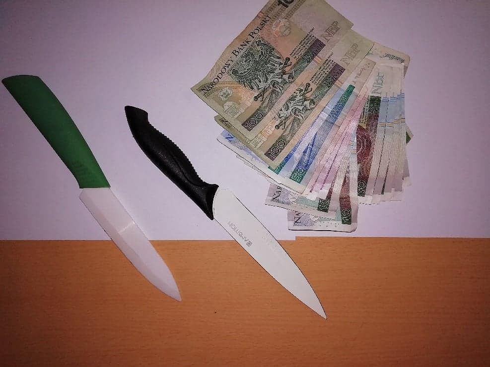 Łódź. Pijani nastolatkowie z nożami zatrzymani. Napadli na dwie stacje