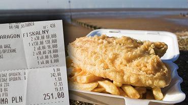 Ile kosztuje ryba nad polskim morzem?