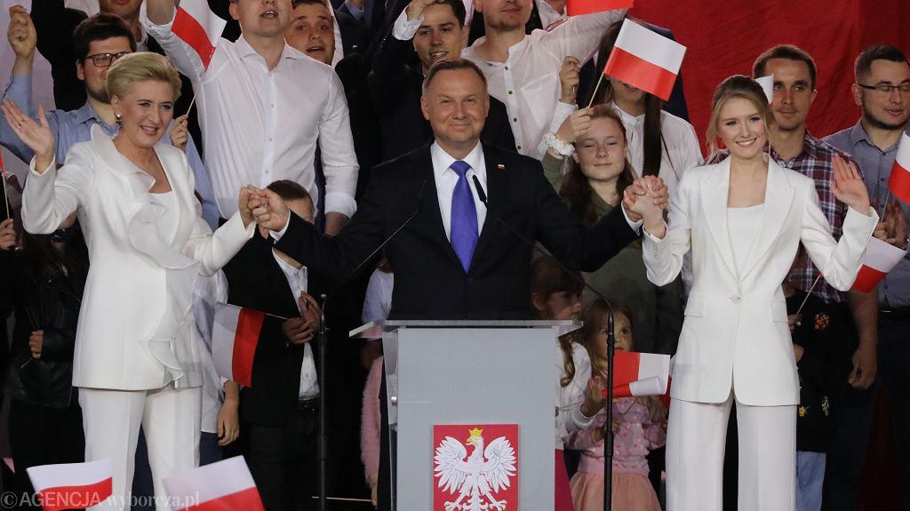 Kinga Duda, Andrzej Duda, Agata Duda