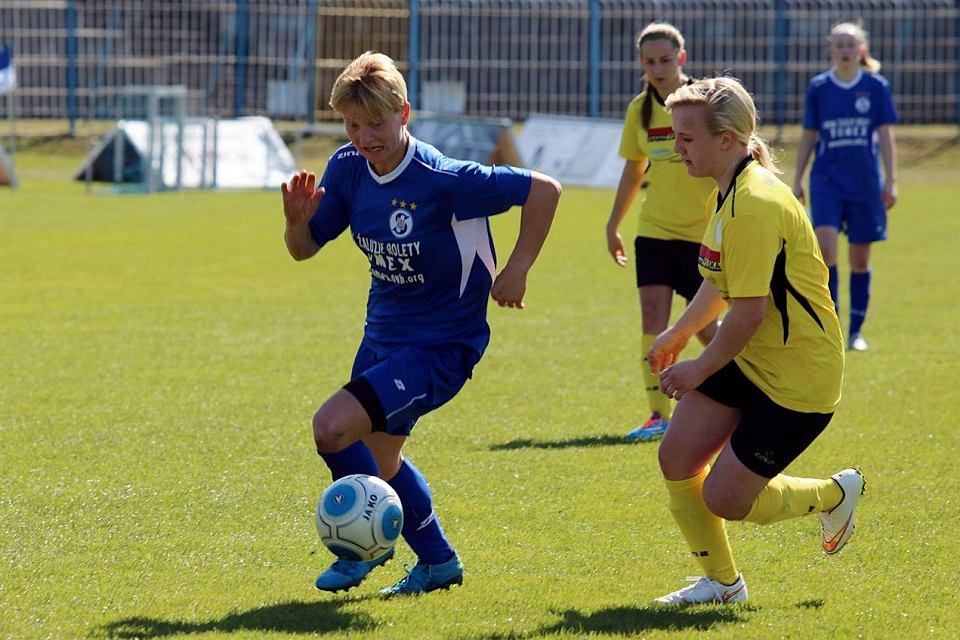 Pierwsza liga piłkarek nożnych: TKKF Stilon Gorzów - Victoria Sianów 3:0 (2:0)