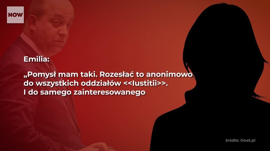 Fragment rozmów ujawnionych przez Onet.pl