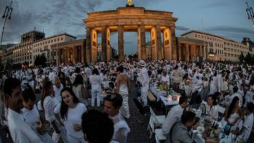 Germany Dinner in White