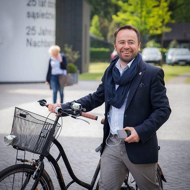 Na zdjęciu: Michał Olszewski