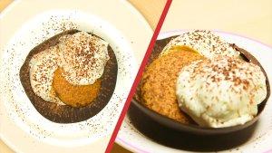 Błyskawiczne tiramisu w miseczkach z czekolady