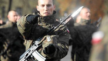 Żołnierze wojsk Obrony Terytorialnej złożyli przysięgę