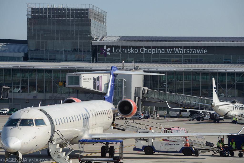 Lotnisko Chopina (zdjęcie ilustracyjne)