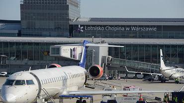 Lotnisko Okęcie podało dane za lipiec