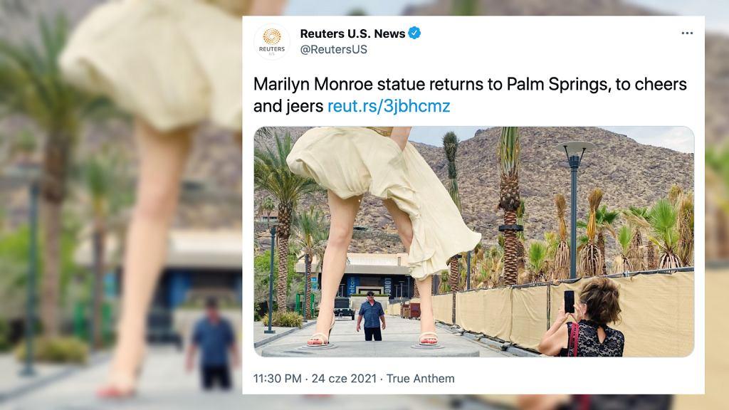 Kontrowersje wokół pomnika Marilyn Monroe w Palm Springs