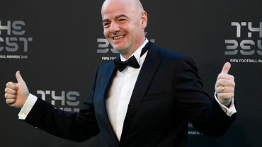 Prezes FIFA Gianni Infantino