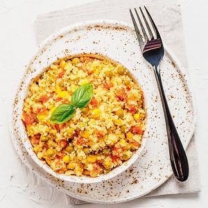 Ryż z kalafiora z warzywami