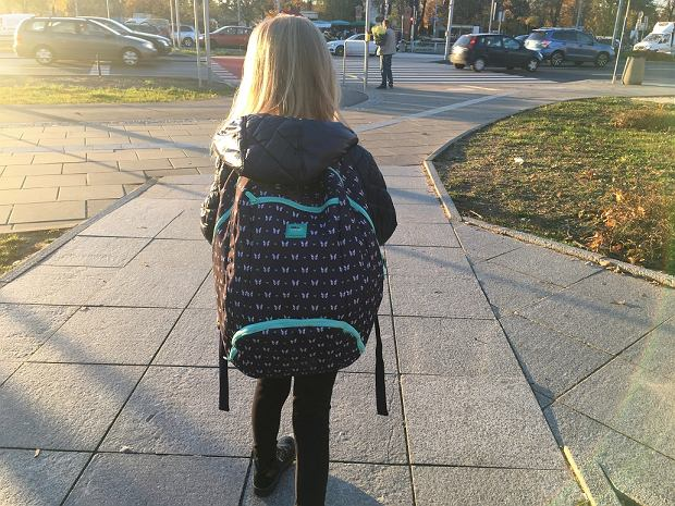 Uczniów bolą plecy od ciężkich tornistrów. Fizjoterapeuta: Nie każde dziecko ma taki komfort, że rodzic dźwiga plecak