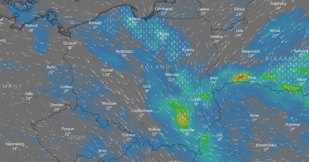 Pogoda - prognoza na sobotę 3 lipca