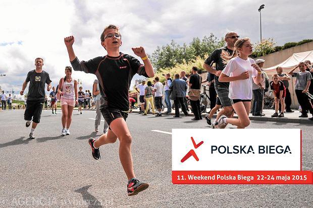 02.06.2013 Rzeszow , Bulwary nad Wislokiem . Impreza biegowa zorganizowana w ramach akcji  Polska Biega