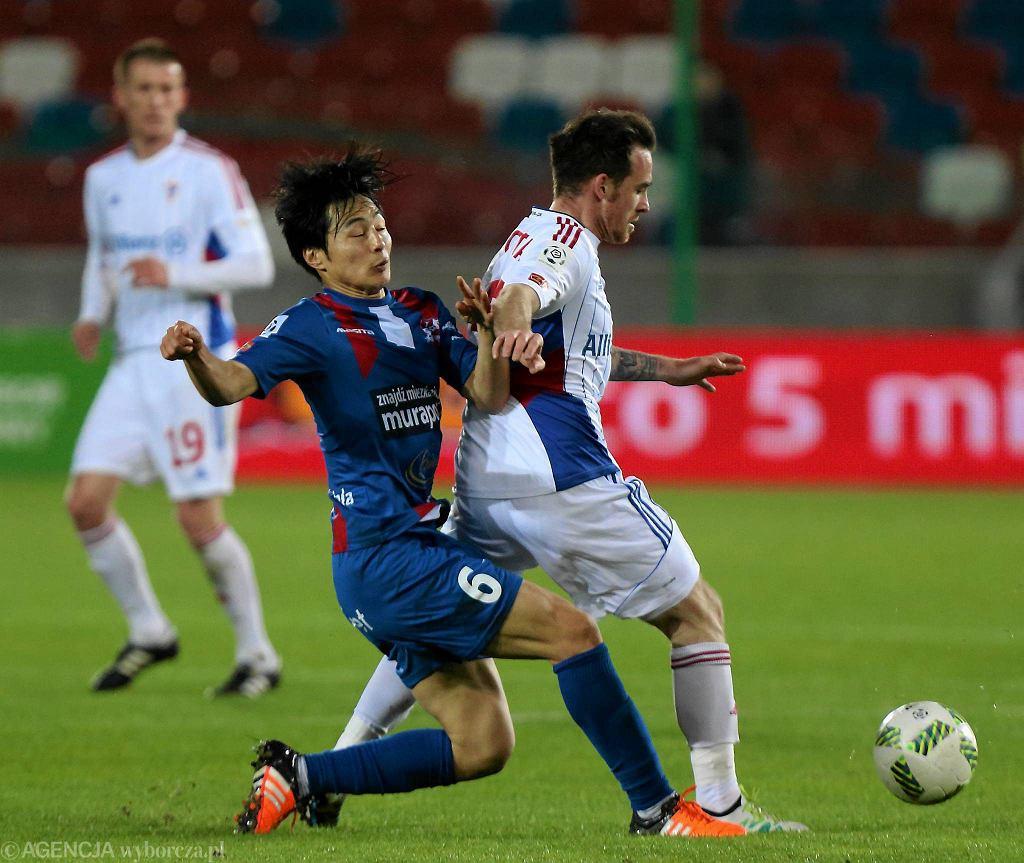 Górnik Zabrze - Podbeskidzie Bielsko-Biała (1:0). Kohei Kato