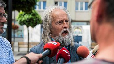 Apel do prezydenta Katowic, by podpisał deklarację Unii Metropolii Polskich w sprawie migrantów. Na zdjęciu prof. Tadeusz Sławek