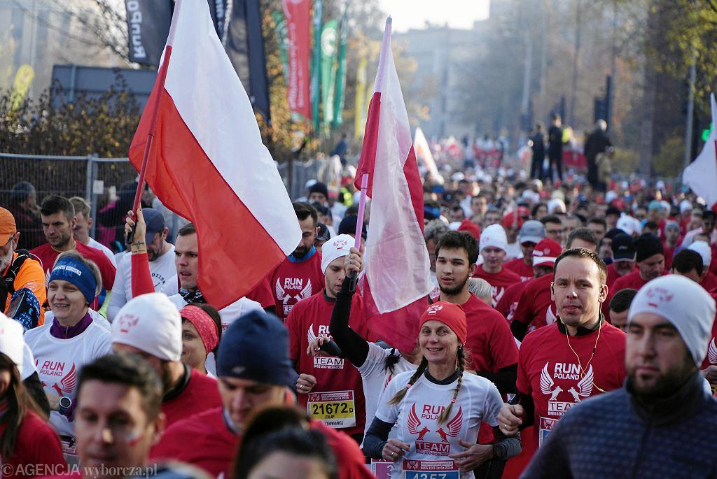 Bieg Niepodległości w Poznaniu, 11 listopada 2018 r.