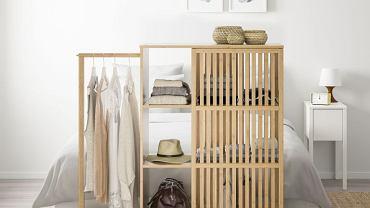 Praktyczne przechowywanie ubrań