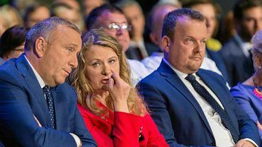 Wrzesień 2019 r. Katarzyna Piekarska podczas konwencji KO w Sosnowcu