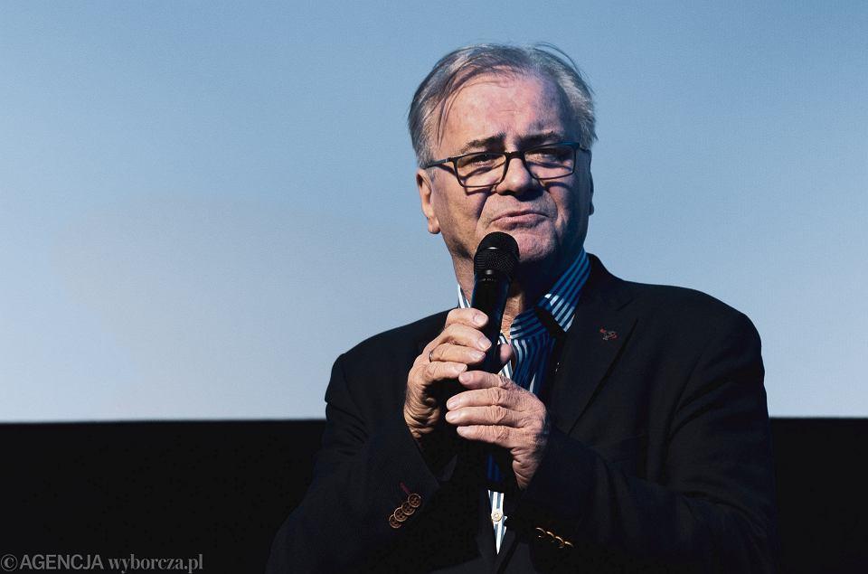 Reżyser Jacek Bromski podczas Festiwalu Polskich Filmów Fabularnych w Gdyni, 20.09.2019