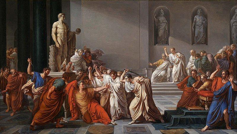 15 Iii 44 R Pne Idy Marcowe Zabójstwo Juliusza Cezara