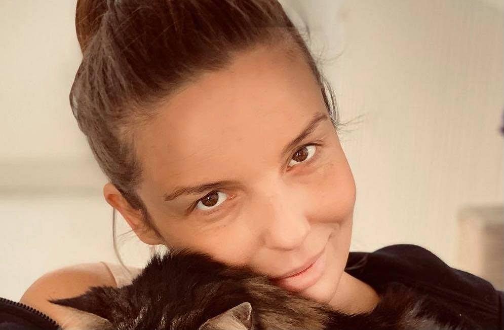 Agnieszka Włodarczyk sprawdziła, ile waży po porodzie. 'Ja się w ogóle nie dołuję'