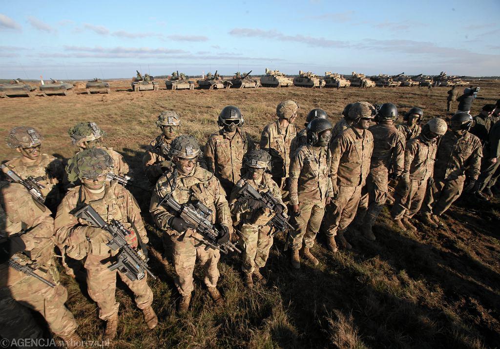 W Polsce wzrośnie liczba stacjonujących żołnierzy amerykańskich. Zdjęcie ilustracyjne