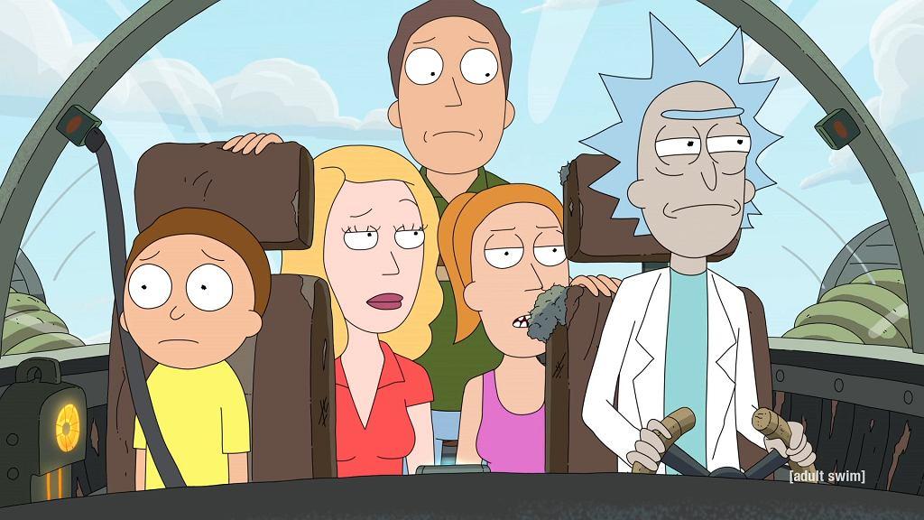 Kadr z serialu komediowego 'Rick i Morty'. 5. sezon dostępny już na HBO GO