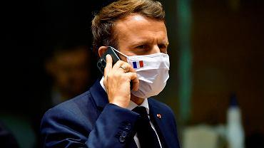 """""""Le Monde"""": Macron był szpiegowany przez marokańskie służby, """"Pegasus"""" śledził jego prywatny telefon"""