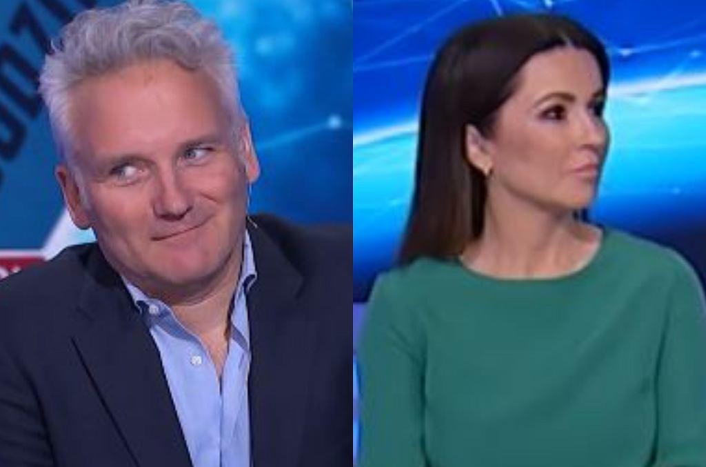 Beata Tadla i Jarosław Kret w programie '24 godziny'