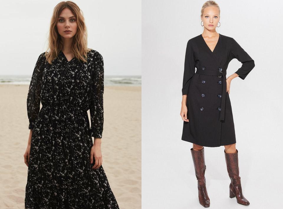Sukienki midi na jesień