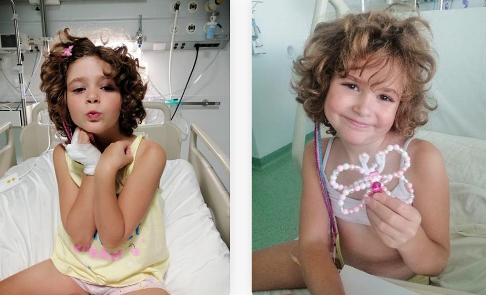 Terapia CAR-T jest jedyną szansą dla chorującej na białaczkę Mii Szuber