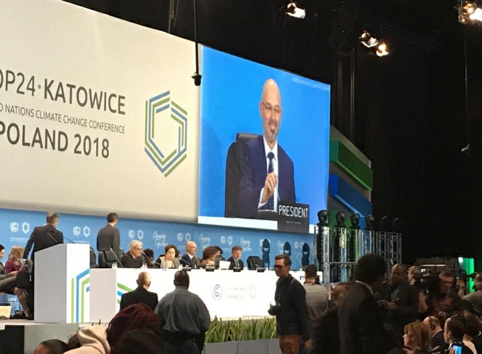 Wiceminister środowiska Michał Kurtyka objął funkcję przewodniczącego szczytu COP24 w Katowicach