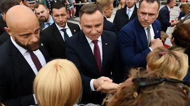 Andrzej Duda w Środzie Śląskiej