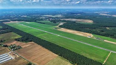 Lotnisko w Kąkolewie k. Grodziska Wlkp.. To tutaj będzie realizowany projekt Politechniki Poznańskiej 'Aerosfera'