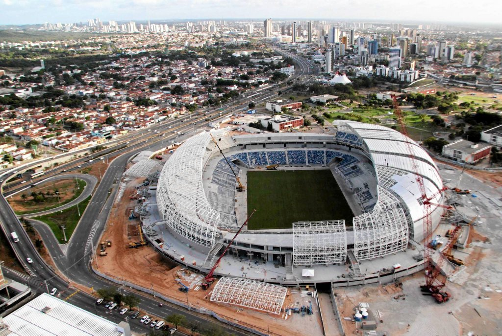 <b>Arena das Dunas - Natal</b>. 42 000 miejsc, arena czterech meczów, koszt: 550 mln zł. To będzie prawdopodobnie najefektowniejszy stadion mundialu. Zdaniem tygodnika
