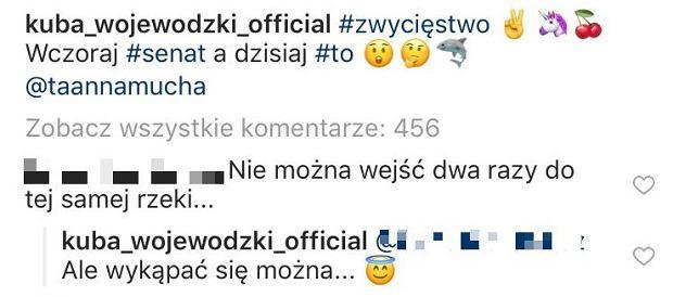 Komentarze na Instagramie Kuby Wojewódzkiego
