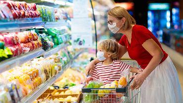 Zakupy z dzieckiem w pandemii