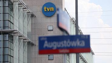 Siedziba telewizji TVN. Warszawa, 13 lipca 2021