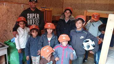 Dzięki pomocy wielu osób udało się wybudować dom dla romskiej rodziny