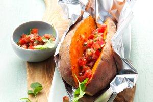 Batat - słodki ziemniak na grilla