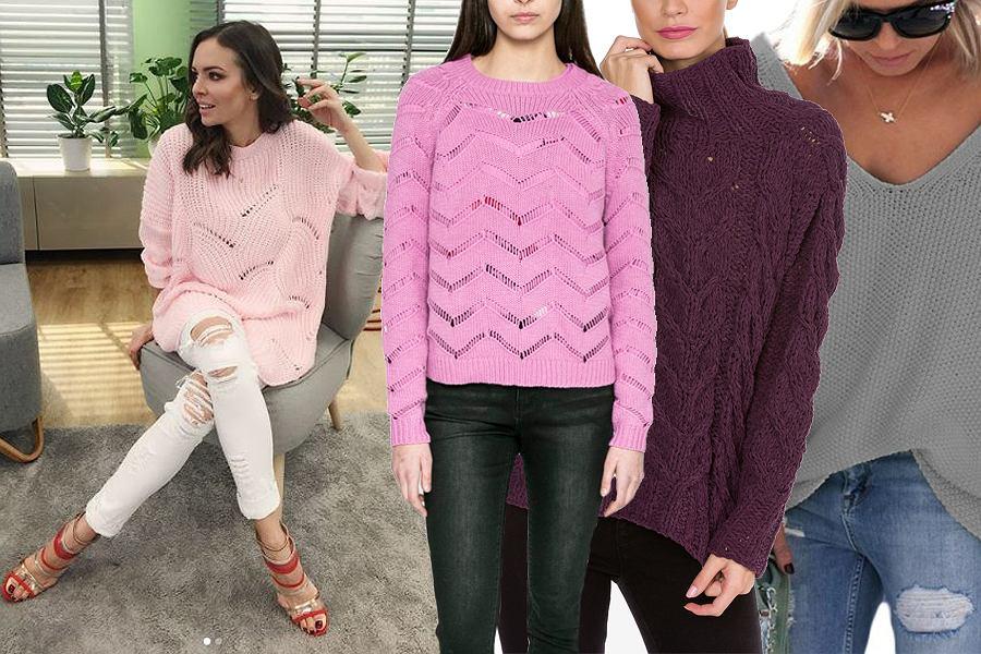 Kolaż, sweter oversize/Materiały partnera