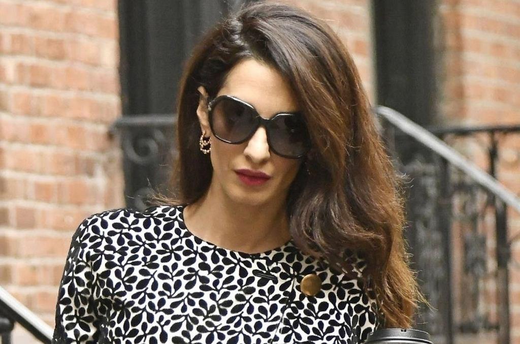 Amal Clooney zachwyciła swoją stylizacją