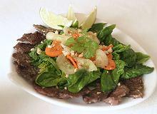 Sałatka z wołowiną - ugotuj