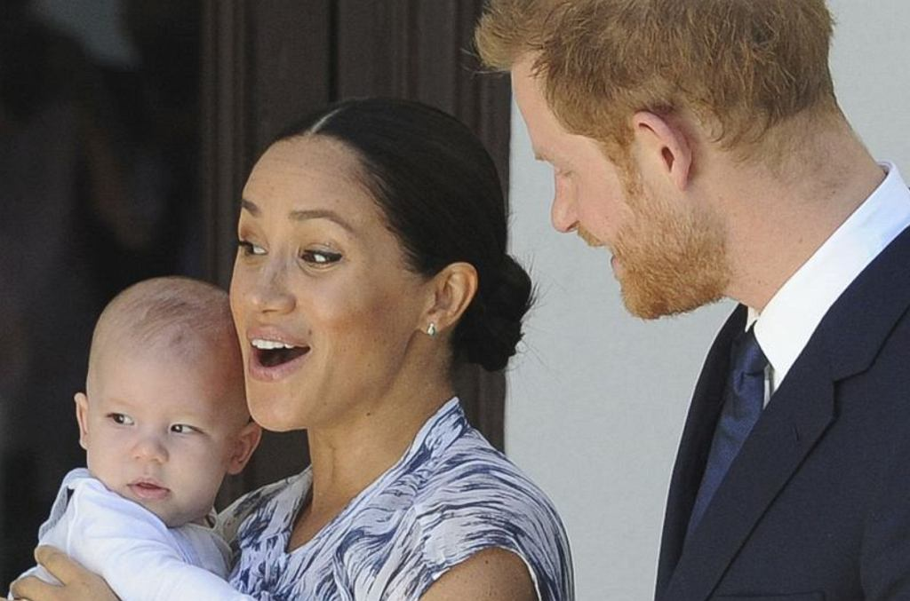 Książę Harry, Książę Archie, Meghan Markle