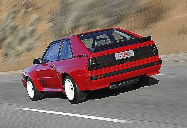 Audi Sport quattro produkowane było tylko przez rok (1984-1985)
