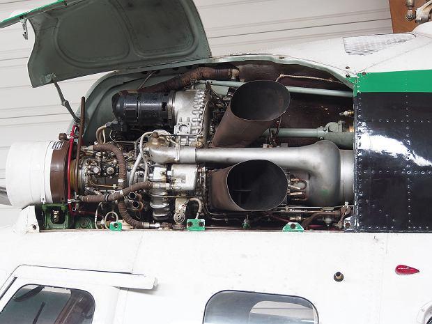 Silnik GTD-350 śmigłowca Mi-2